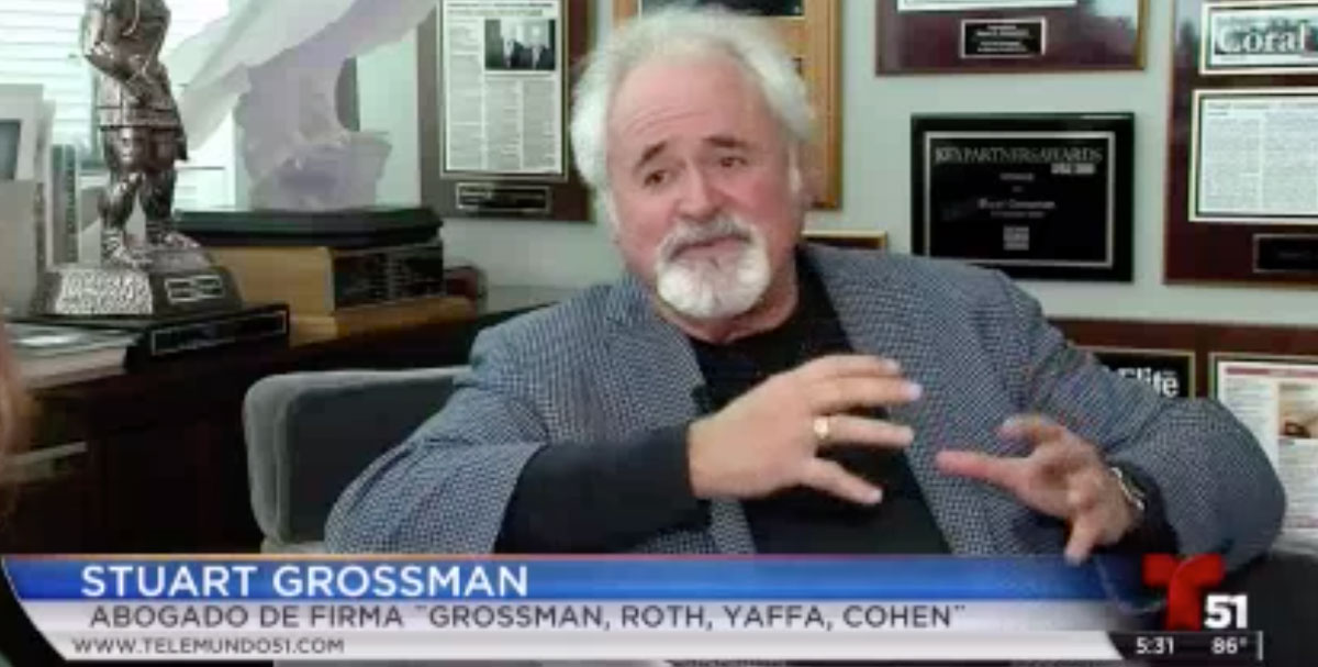 Stuart Grossman on Telemundo