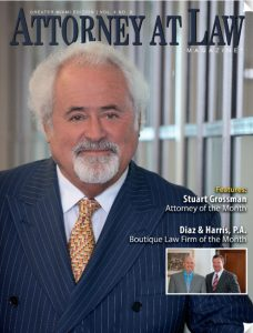 Stuart FGrossman on Cover of Attorney at Law Magazine